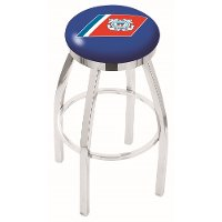 L8C2C25CstGrd US Coast Guard Chrome 25 Inch Counter Stool