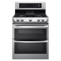 LDG4315ST LG Double Oven Gas Range with ProBake Convection -  6.9 cu. ft. Stainless Steel
