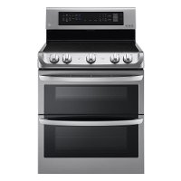 LDE4413ST LG Double Oven Electric Range - 7.3 cu. ft. Stainless Steel
