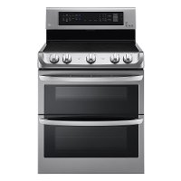 LDE4415ST LG Double Oven Electric Convection Range - 7.3 cu. ft. Stainless Steel