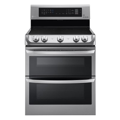 LDE4415ST LG Double Oven Electric Range - 7.3 cu. ft. Stainless Steel