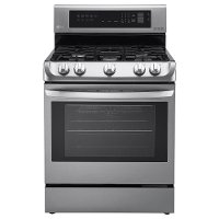 LRG4113ST LG Gas Slide-in Range with EasyClean - 6.3 cu. ft. Stainless Steel