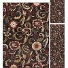 LGN5058SET3 3 Piece Set Brown, Gold, and Beige Area Rug - Laguna