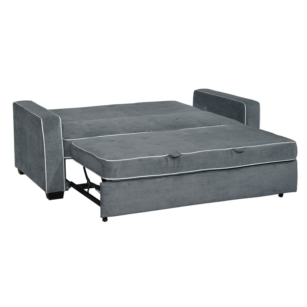 Gray Queen Convertible Sofa Bed - Augustine | RC Willey Furniture Store