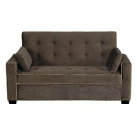 Java Brown Queen Convertible Sofa Bed - Augustine Collection
