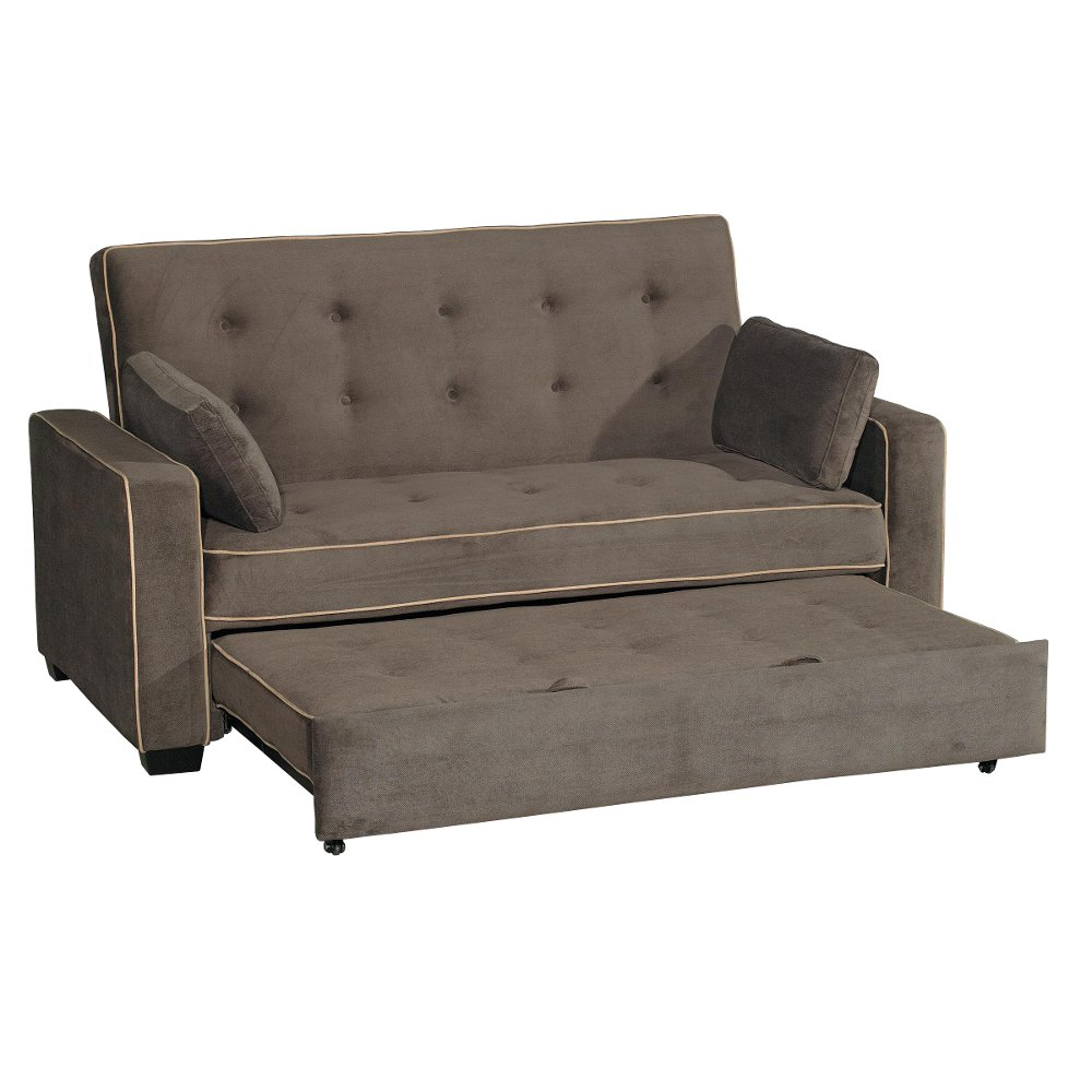 Gentil Java Brown Queen Convertible Sofa Bed   Augustine Collection | RC Willey  Furniture Store