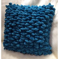 Moroccan Blue 18 Inch Throw Pillow