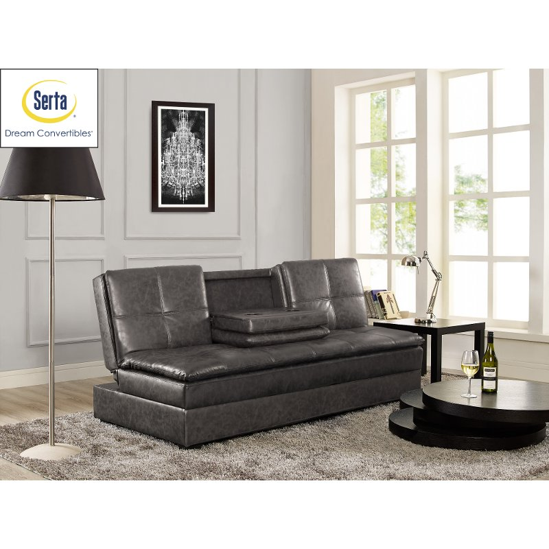 Serta Convertible Sofa Bed   Kingsley