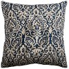 Matte Denim Cotton Throw Pillow
