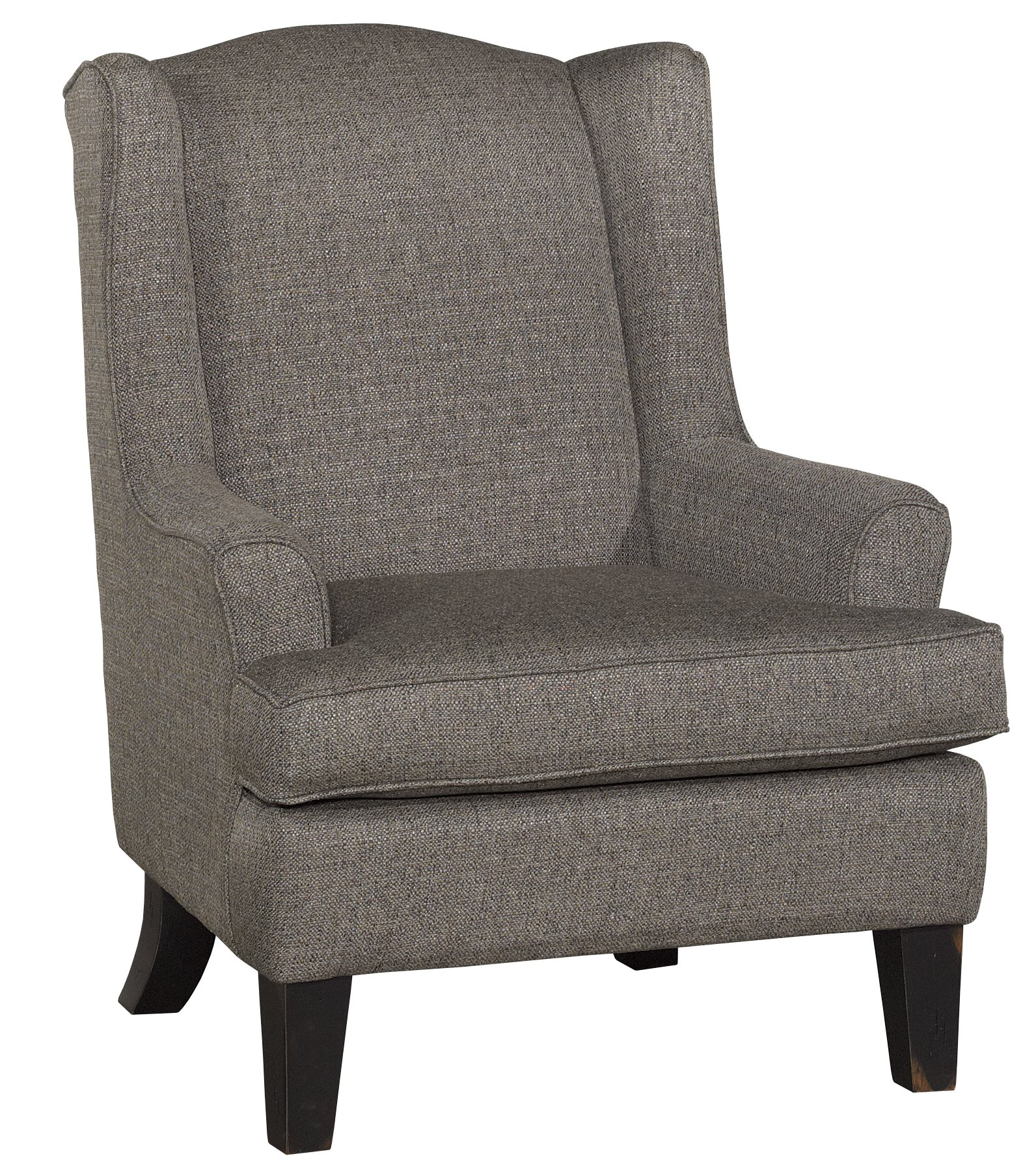 Classic nightingale gray wingback chair andrea rc willey furniture store
