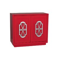Eden Red Accent Chest