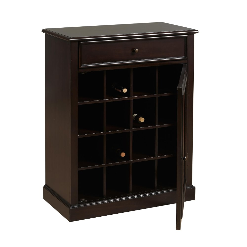 Dark Wood Wine Cabinet | RC Willey Furniture Store