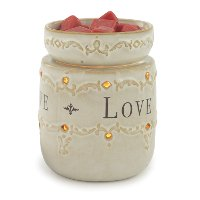 Live Laugh Love Illumination Fragrance Warmer - Candle Warmers