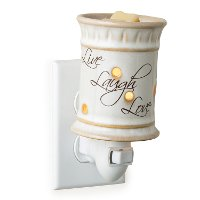PILLL/PLUGIN/WARMER Live Laugh Love Pluggable Fragrance Warmer - Candle Warmers
