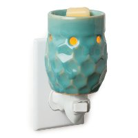 PI10/PLUGIN/WARMER Turquoise Pluggable Fragrance Warmer - Candle Warmers
