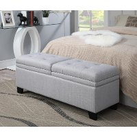 Marmor Upholstered Storage Bed Bench