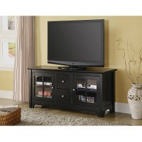 Black Wood TV Console (52 Inch)
