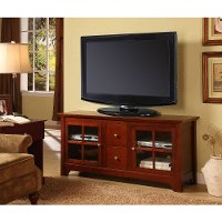 Rustic Brown Wood TV Console (52 Inch)
