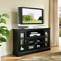 Black Wood TV Stand (52 Inch)
