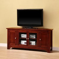 Brown Wood TV Stand (52 Inch)