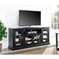 Black TV Stand (70 Inch)