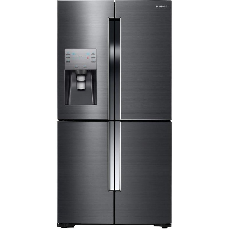 site refrigerator cu p ft sa stainless steel french samsung internal dispenser door with water