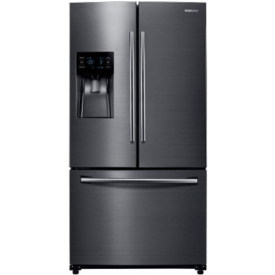 RF263BEAESG Samsung 24.6 cu. ft. French Door Refrigerator - 36 Inch Black Stainless Steel
