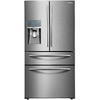 RF28JBEDBSR Samsung French Door Refrigerator - 36 Inch Stainless Steel