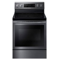 NE59J7630SG Samsung Slide-in Electric Range with True Convection - 5.9 cu. ft. Black Stainless Steel