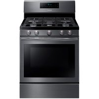 NX58J5600SG Samsung Gas Range - 5.8 cu. ft. Black Stainless Steel