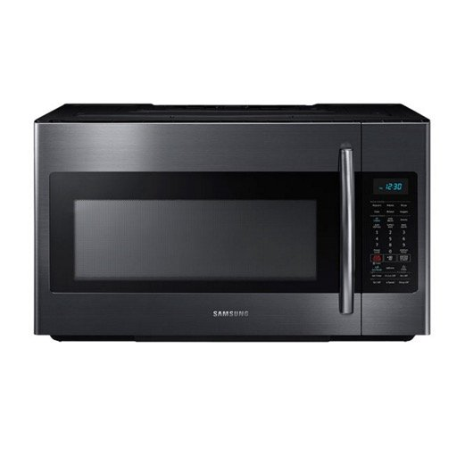 Me18h704sfg Samsung Over The Range Microwave Oven Black Stainless Steel