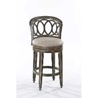 5638-830A Gold Metallic Swivel Bar Stool - Adelyn