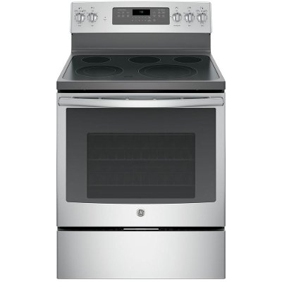 JB750SJSS GE Electric Range - 5.3 cu. ft. Stainless Steel