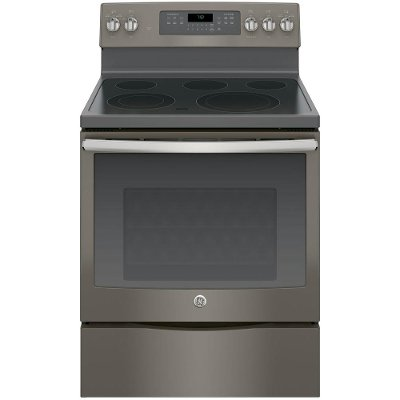 JB750EJES GE Electric Range with True European Convection - 5.3 cu. ft. Slate