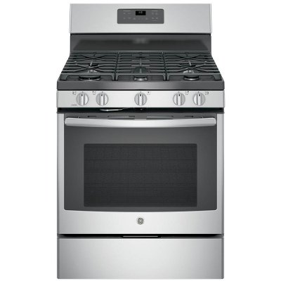 JGB660SEJSS GE Gas Range - 5.0 cu. ft. Stainless Steel