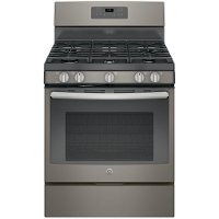JGB660EEJES GE Gas Range with Edge-to-Edge Cooktop - 5.0 cu. ft. Slate