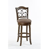 5625-830 Rich Walnut Barstool - McLane