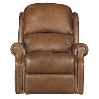 Brown Leather-Match Total Lift Recliner