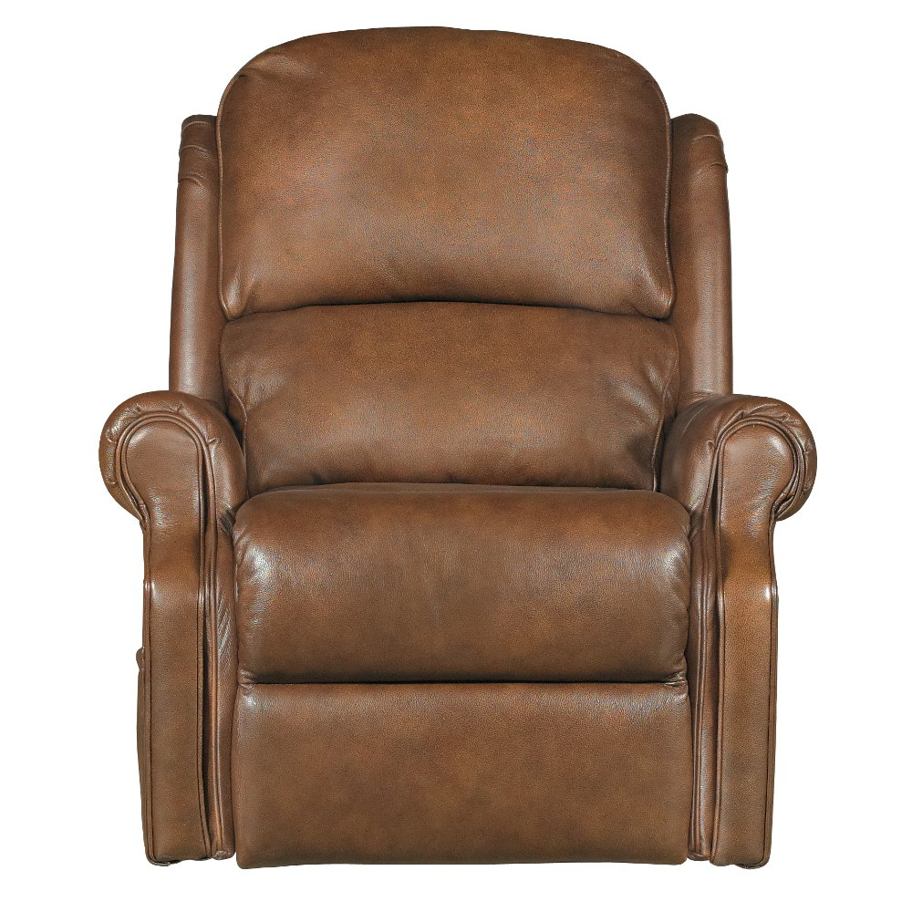 Leather lift chairs - Brown Leather Match Total Lift Recliner With Heat