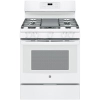 JGB700DEJWW GE  5.0 cu. ft. Gas Convection Range Oven - White