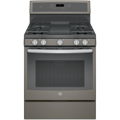 PGB911EEJES GE Profile Series 30 Inch Slate 5.6 cu. ft. Gas Slide-in Range