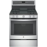 PGB911SEJSS GE Profile Series 30 Inch Gas Range - Stainless Steel