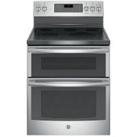 JB860SJSS GE Double Oven Electric Range - 6.6 cu. ft. Stainless Steel
