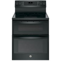 JB860DJBB GE 6.6 cu. ft. Double Oven Electric Range - Black