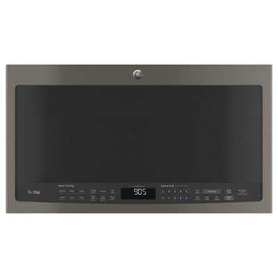 PVM9005EJES GE Profile Over the Range Microwave - 2.1 Cu. Ft. Slate