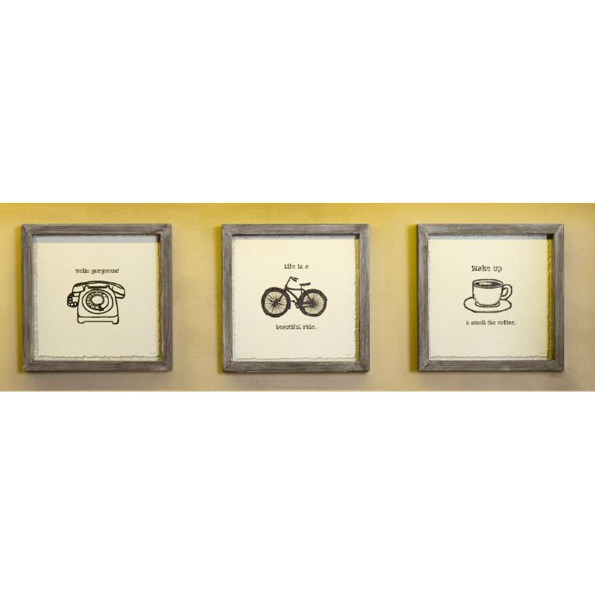 Morning News Framed Wall Art - Set of 3 | RC Willey Furniture Store