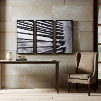 Over The Bridge Canvas Wall Art - Set of 3