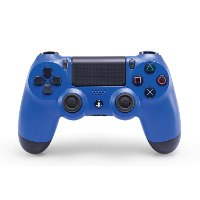 PS4DULSHCK-4-BLUE PlayStation 4 DualShock 4 Wave Blue Wireless Controller