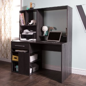 annexe gray oak computer desk free shipping