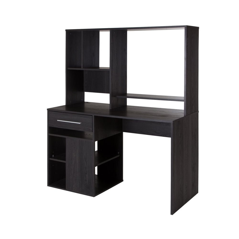 Gray Oak Home Office Computer Desk - Annexe   RC Willey Furniture Store